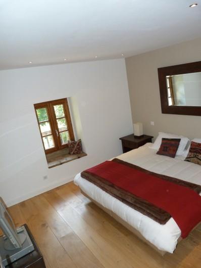 Location de vacances - Chalet à Séez - Chambre 4 - Le lit peut être divisé en 2 lits simples