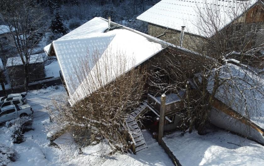 Location de vacances - Chalet à Séez - Vue aérienne