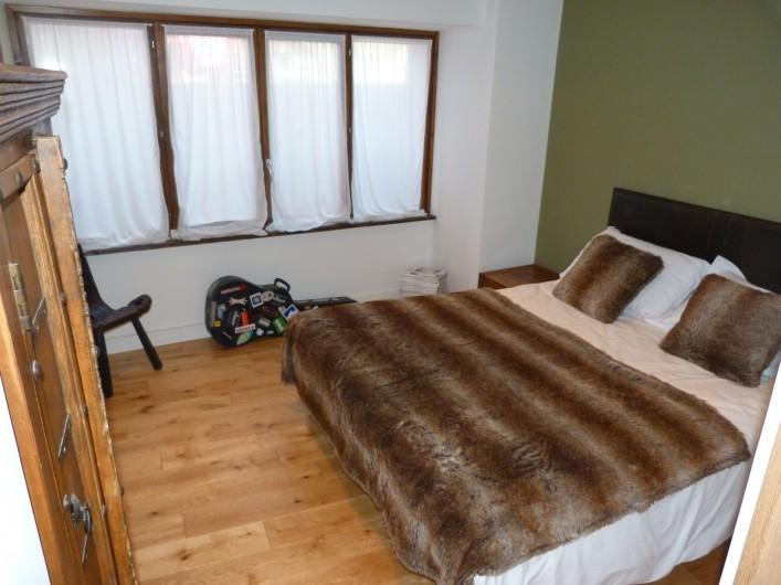 Location de vacances - Chalet à Séez - Chambre 6 - Le lit peut être divisé en 2 lits simples