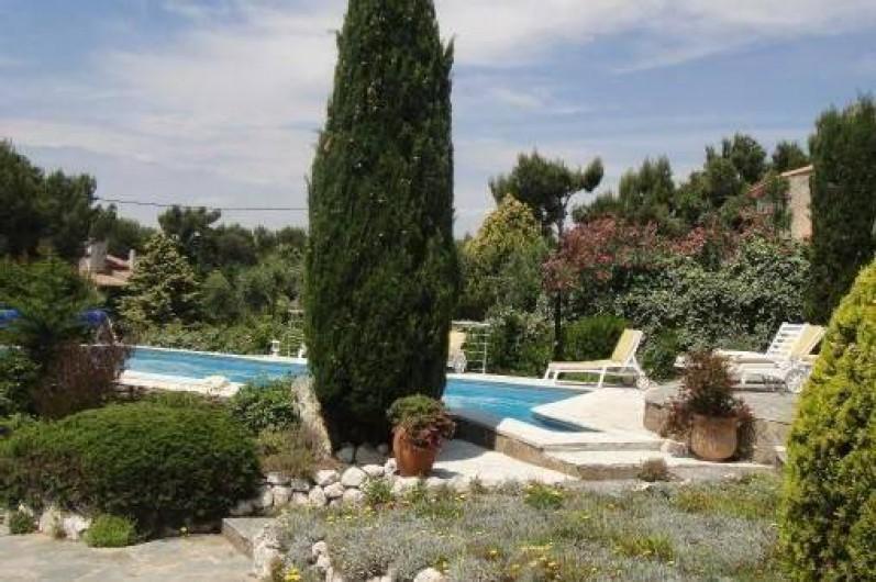 Villa avec piscine la cote bleue dans les bouches du for Camping carry le rouet avec piscine