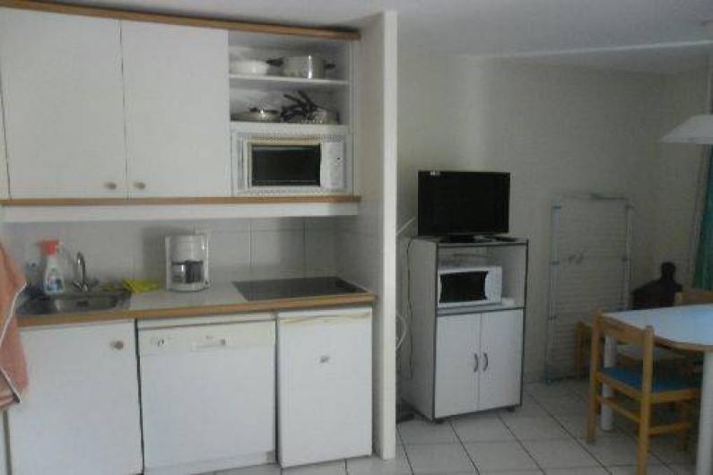 Location de vacances - Appartement à Moliets-et-Maa - Cuisine