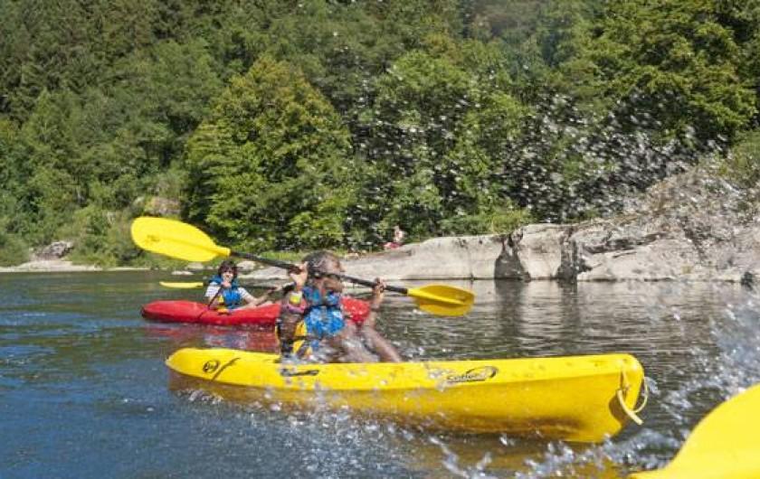 Location de vacances - Gîte à Landos - canoe