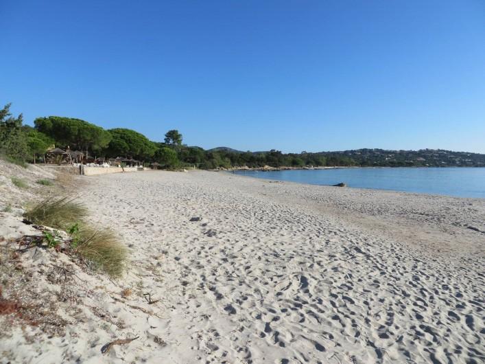 Location de vacances - Villa à Sainte-Lucie de Porto-Vecchio - Plage de Pinarelle