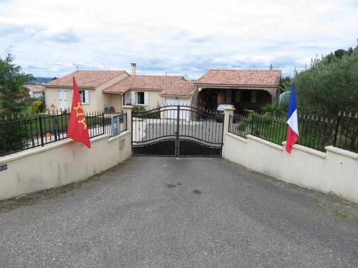 Location de vacances - Chambre d'hôtes à Donzac - L'Entrée d'ABRACADABRALAND