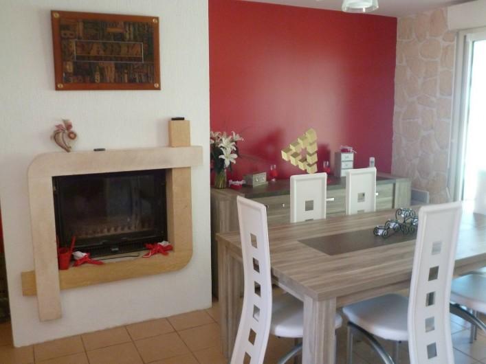 Location de vacances - Chambre d'hôtes à Donzac - Le coin Salle à Manger