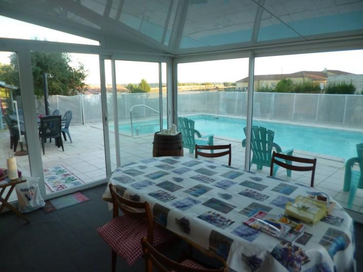 Location de vacances - Chambre d'hôtes à Donzac - La Véranda