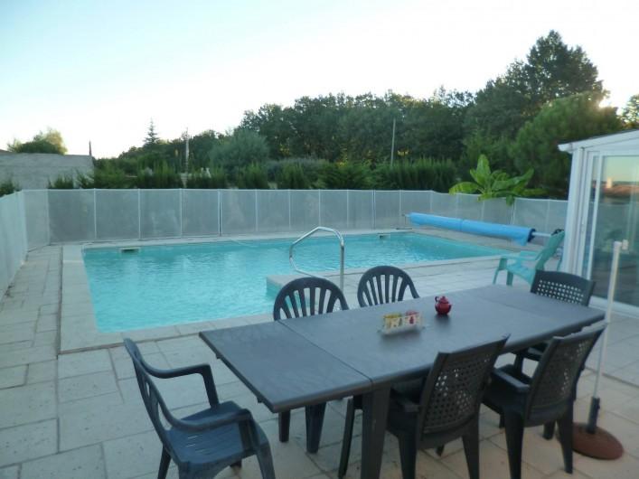 Location de vacances - Chambre d'hôtes à Donzac - La Terrasse