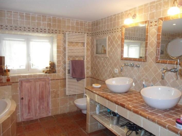 Location de vacances - Mas à Aix-en-Provence - salle de bain