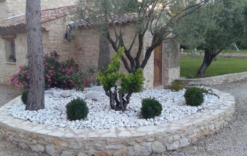 Location de vacances - Mas à Aix-en-Provence - arrivée