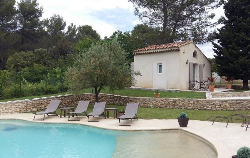 Location de vacances - Mas à Aix-en-Provence - studio