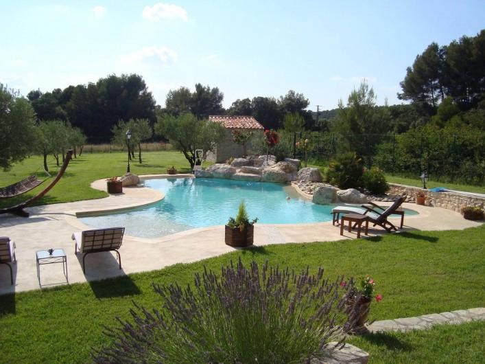 Location de vacances - Mas à Aix-en-Provence - vue d ensemble