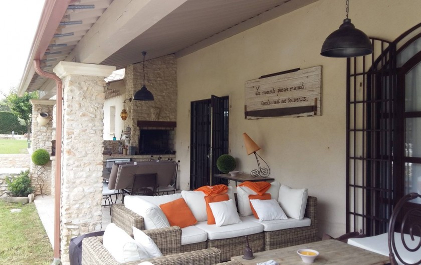 Location de vacances - Mas à Aix-en-Provence - terrasse