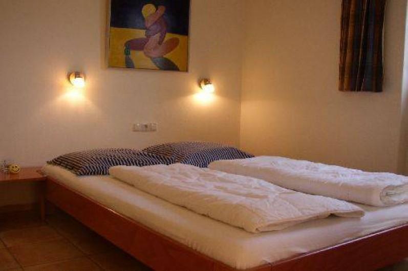 Location de vacances - Bungalow - Mobilhome à Dombourg - Chambre a coucher 1