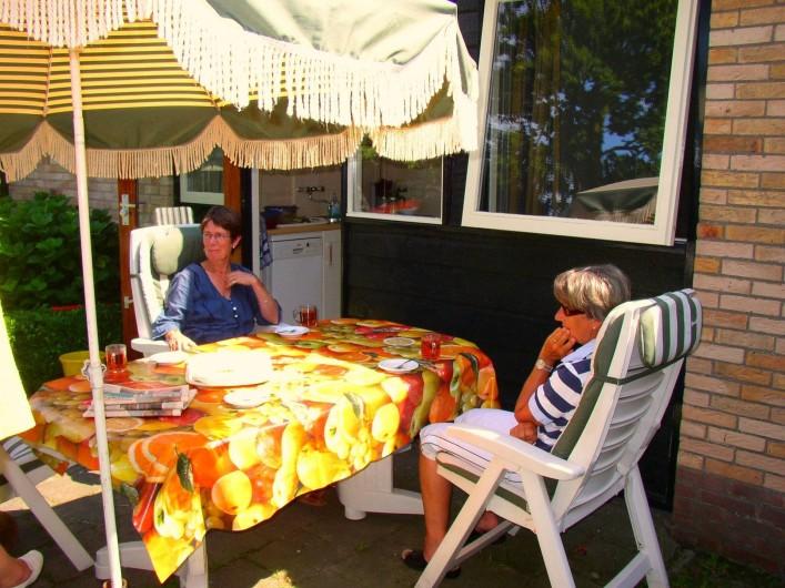 Location de vacances - Bungalow - Mobilhome à Dombourg - Terrasse