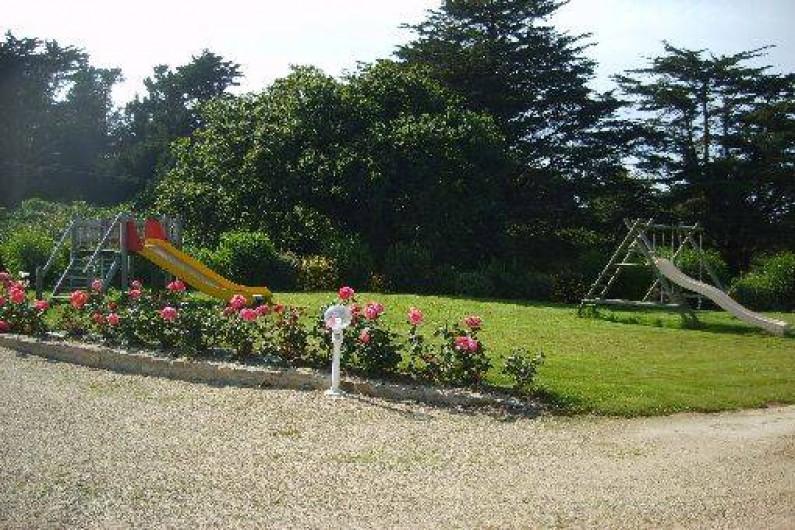 Location de vacances - Chalet à Plounévez-Lochrist