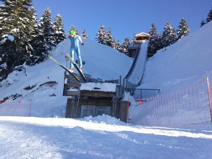Location de vacances - Gîte à Gérardmer - Le saut à ski
