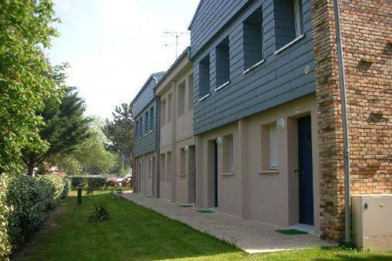 Location de vacances - Villa à Saint-Pair-sur-Mer - façade entrée résidence