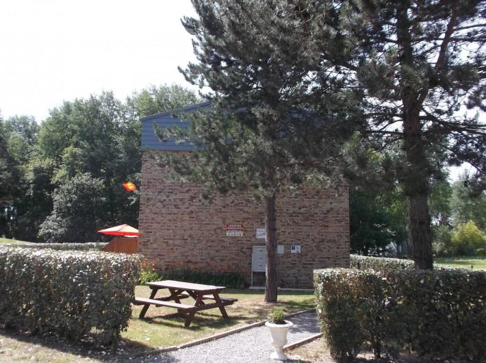 Location de vacances - Villa à Saint-Pair-sur-Mer - accès résidence la calanque