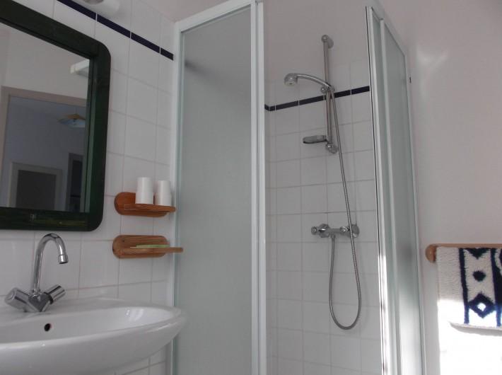 Location de vacances - Villa à Saint-Pair-sur-Mer - Salle d'eau
