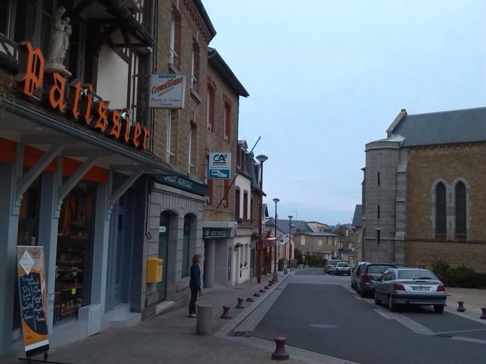 Location de vacances - Villa à Saint-Pair-sur-Mer - centre ville st Pair sur mer