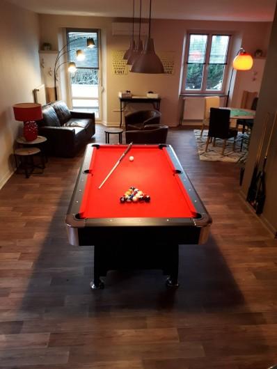 Location de vacances - Chambre d'hôtes à Sélestat - Salon billard