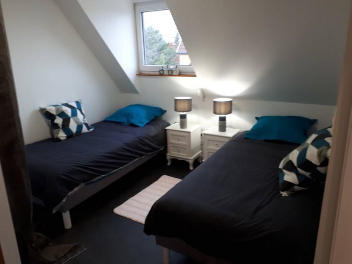 Location de vacances - Chambre d'hôtes à Sélestat - chambre CARREAU
