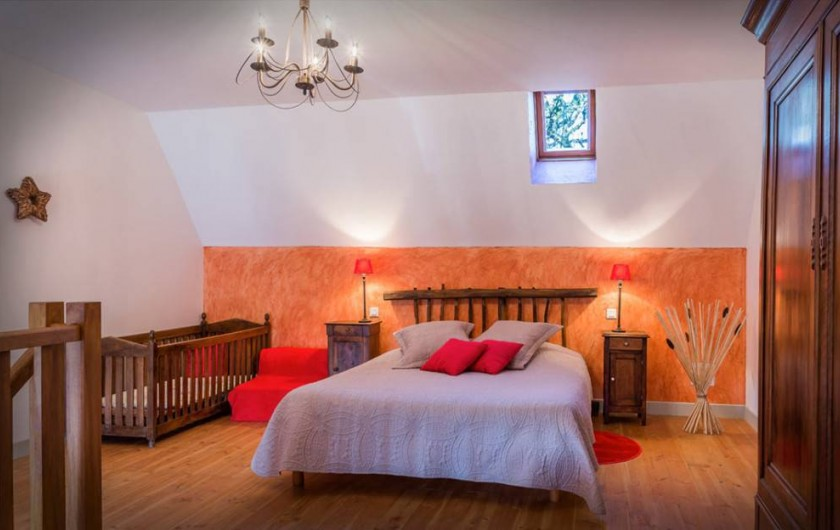 """Location de vacances - Chambre d'hôtes à Espédaillac - Suite """"Andromède"""""""