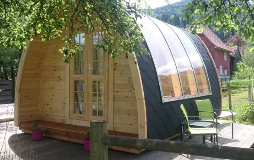 Location de vacances - Roulotte à Mitzach - Bull'O Pod