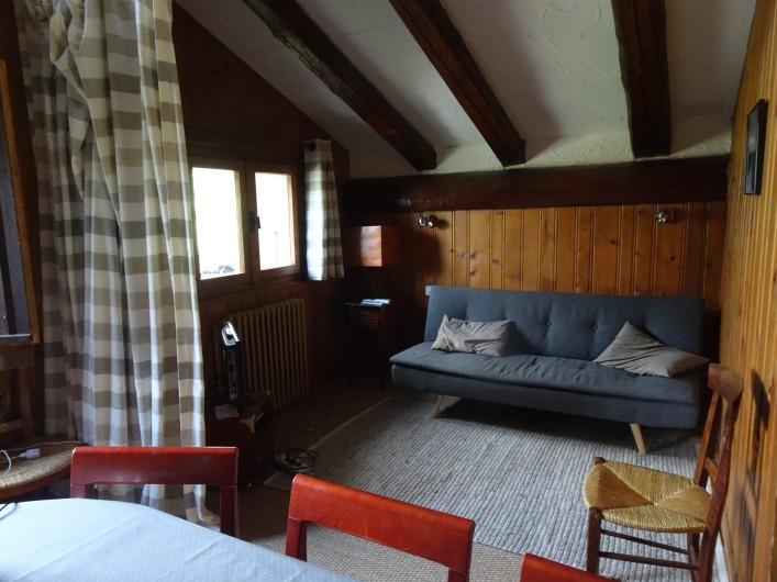 Location de vacances - Chalet à Les Houches - Salon