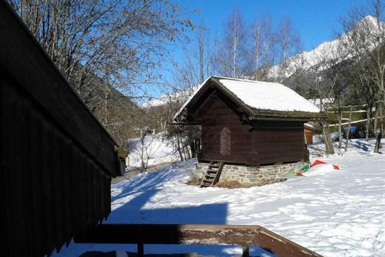 Location de vacances - Chalet à Les Houches - Le mazeau