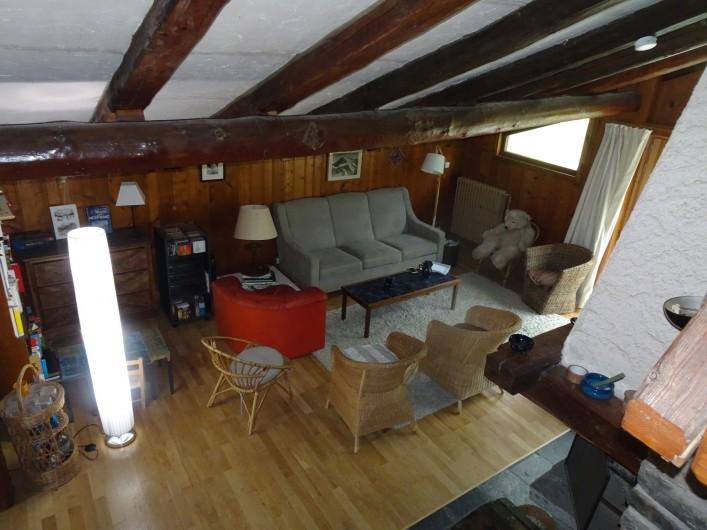 Location de vacances - Chalet à Les Houches - Salon vu de l'escliar