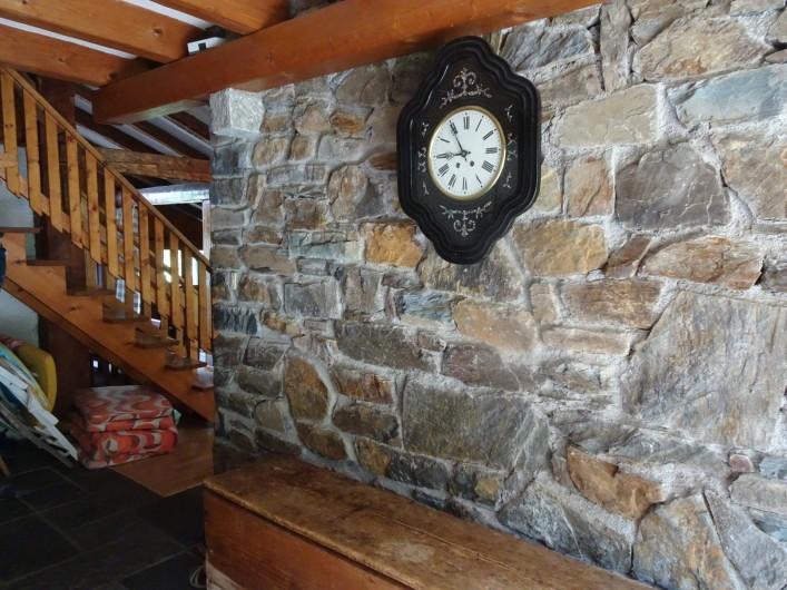 Location de vacances - Chalet à Les Houches - La cheminée