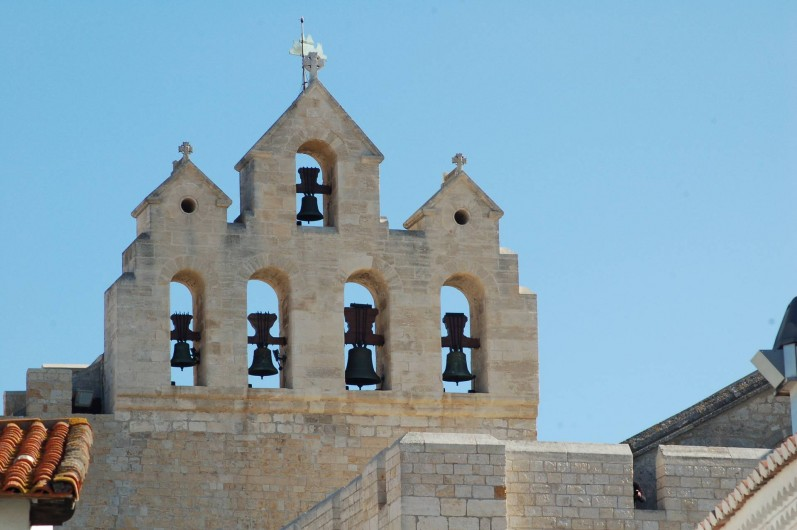 Location de vacances - Gîte à Saintes-Maries-de-la-Mer - Eglise des Saintes Maries de la Mer