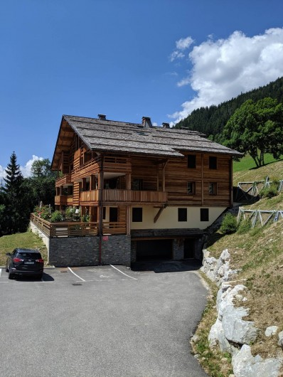 Location de vacances - Appartement à Le Grand-Bornand
