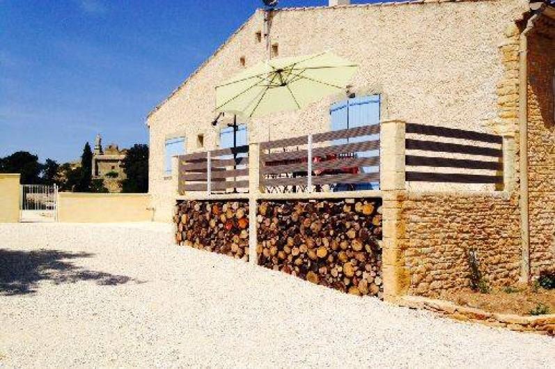 Location de vacances - Villa à Sabran