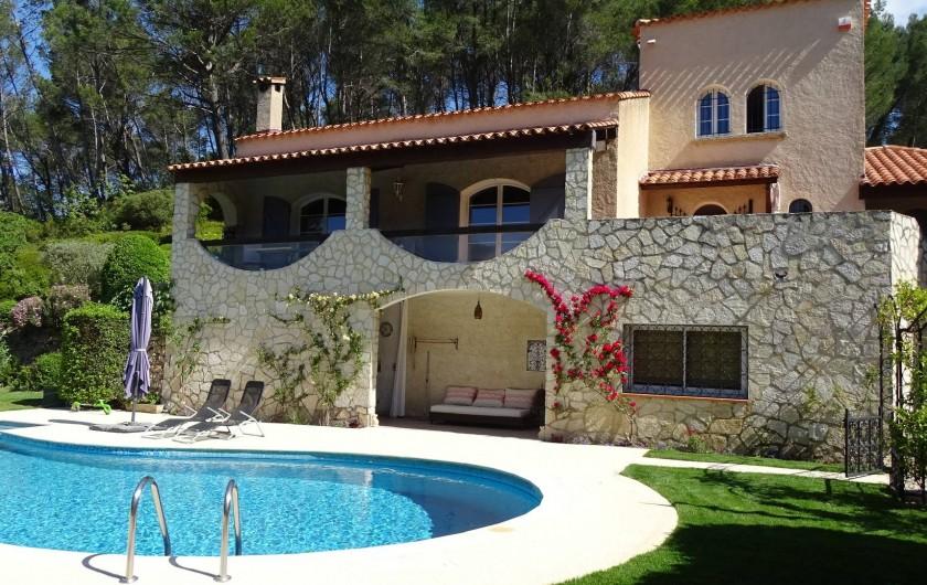 Location de vacances - Maison - Villa à Auriol - Vue générale maison