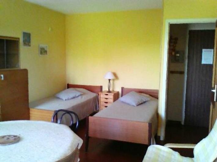 Location de vacances - Studio à Gréoux-les-Bains - 2 lits de 90cm