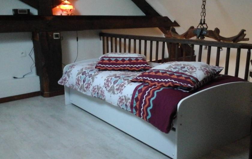 Location de vacances - Appartement à Arandon - MEZZANINE