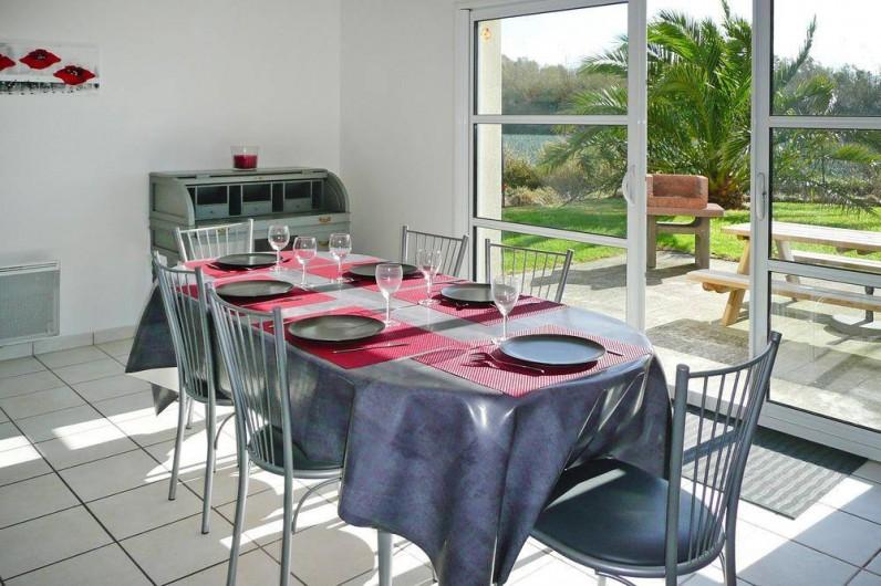 Location de vacances - Gîte à Kerlouan - La salle à manger