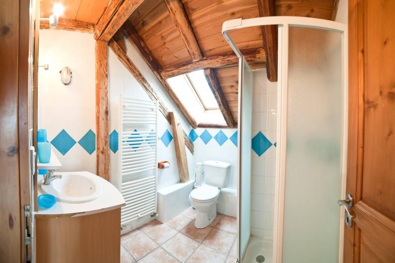 Location de vacances - Appartement à Albiez-le-Vieux - salle de douche 2 + wc