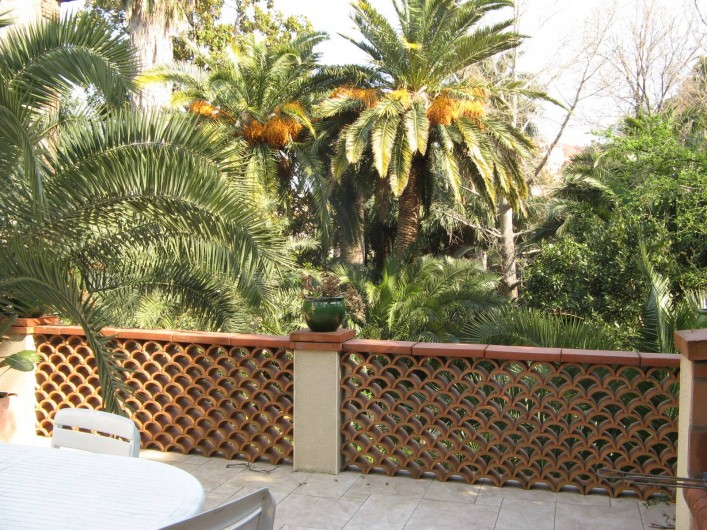 Location de vacances - Appartement à Collioure - votre terrasse