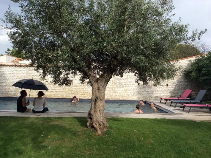 Location de vacances - Chambre d'hôtes à Marsilly - une petite ondée, qu'importe le temps est bon