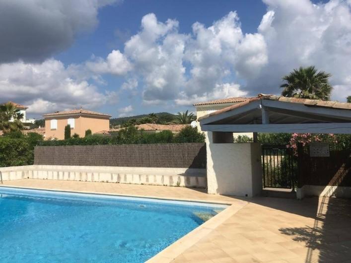 Location de vacances - Villa à Sainte-Maxime - la piscine