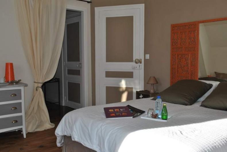 Location de vacances - Chambre d'hôtes à Salies-de-Béarn - la chambre Travertin