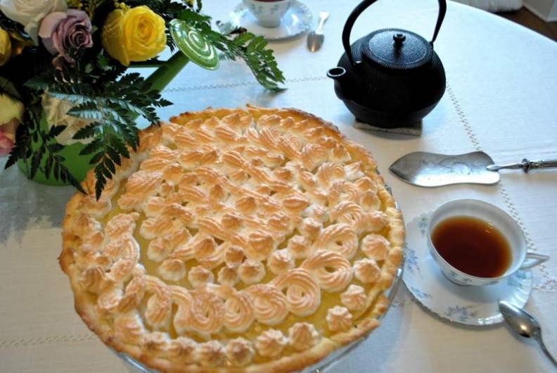 Location de vacances - Chambre d'hôtes à Salies-de-Béarn - la tarte au citron de Corinne
