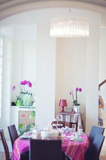 Location de vacances - Chambre d'hôtes à Salies-de-Béarn - le grand salon