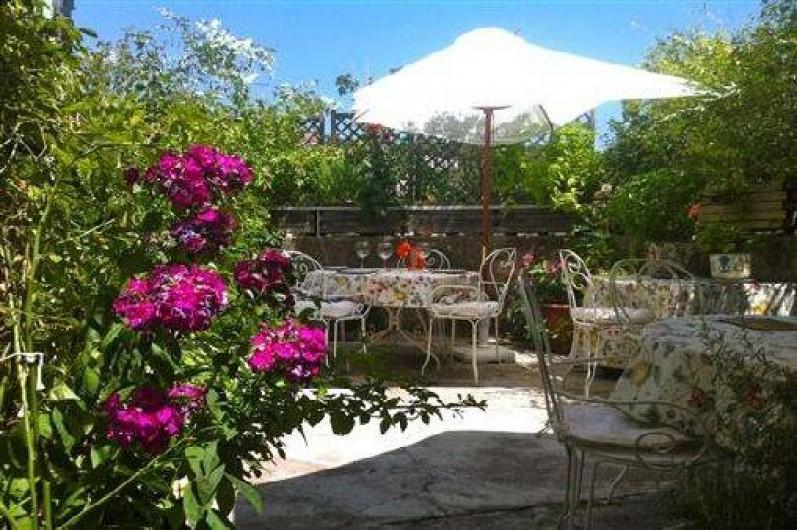 Location de vacances - Gîte à Saint-Hippolyte-du-Fort - terrasse