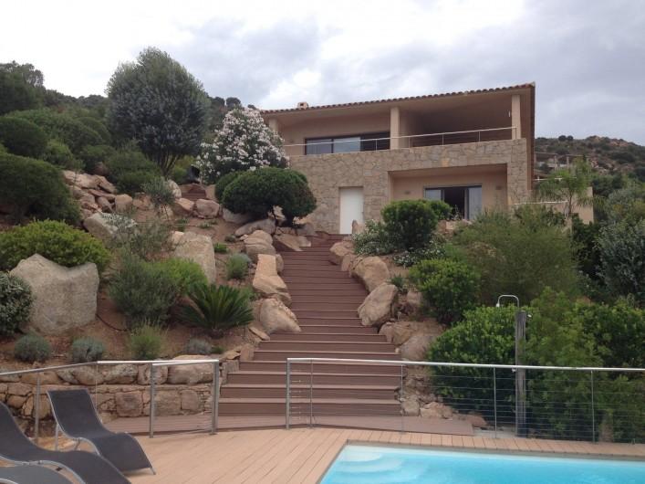Villa De Charme Vue Sur Mer Secteur Palombaggia Piscine Acces Mer