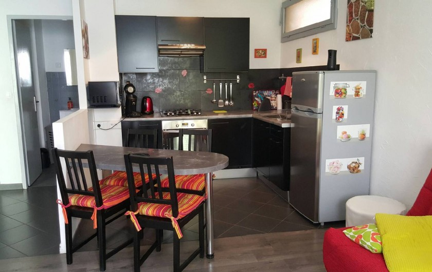 Location de vacances - Appartement à Nice - La cuisine