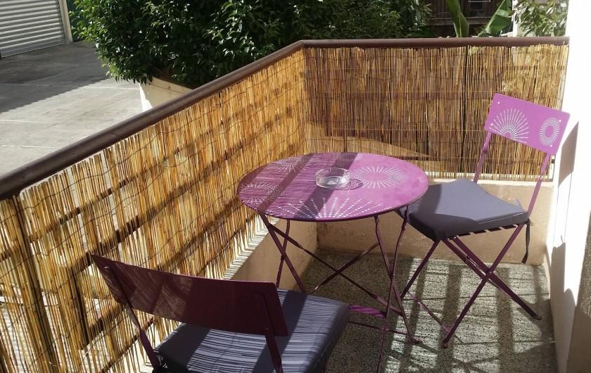 Location de vacances - Appartement à Nice - La petite terrasse